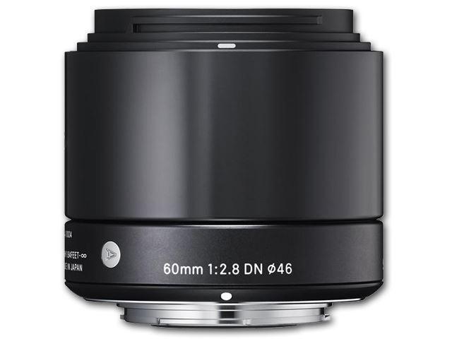 Sigma 60mm f/2.8 DN Art Sony E - Zwart