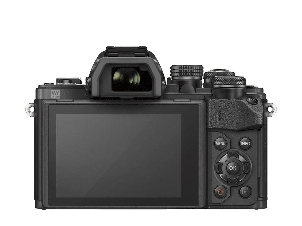 Olympus E-M10 Mark II systeemcamera Zwart + 14-150mm II