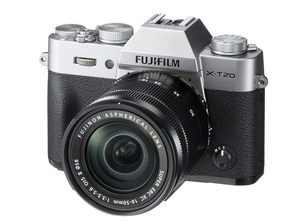 Fujifilm X-T20 zilver + 18-55mm F-2.8-4.0 R LM OIS