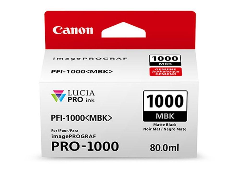Canon PFI-1000 - Mat Zwart 0545C001