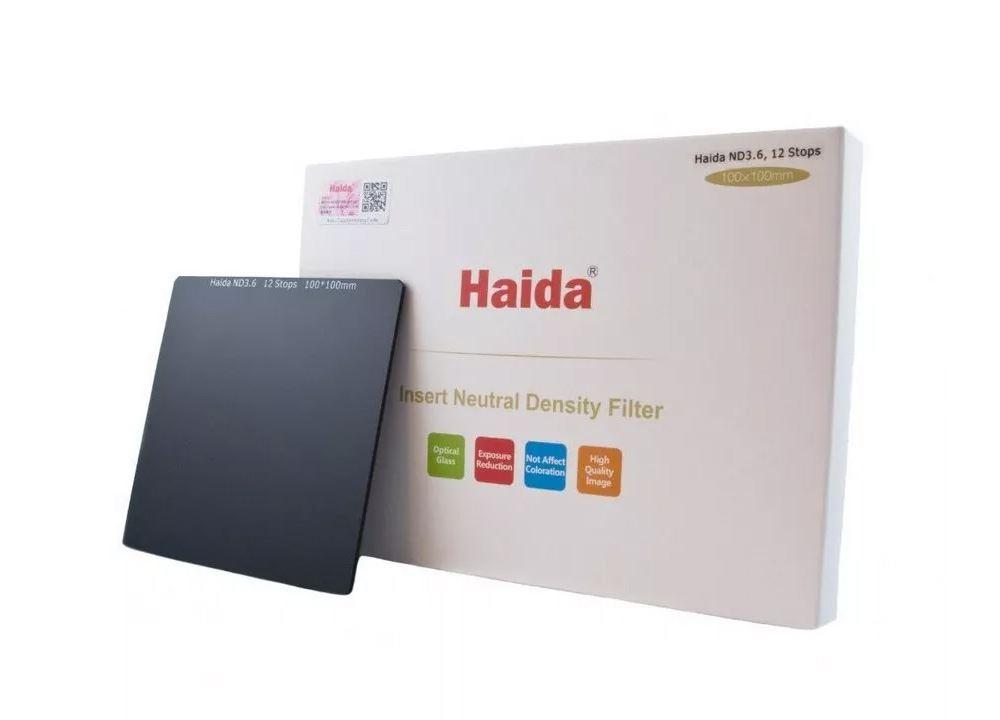 Haida ND 0.6 (2 stops) 100x100mm Optical Glass Filter