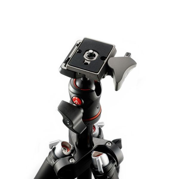 Manfrotto Befree + Ball Head - Rood (MKBFRA4R-BH)