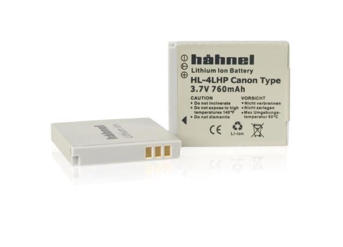 Hahnel Canon NB-4L accu / HL-4LHP