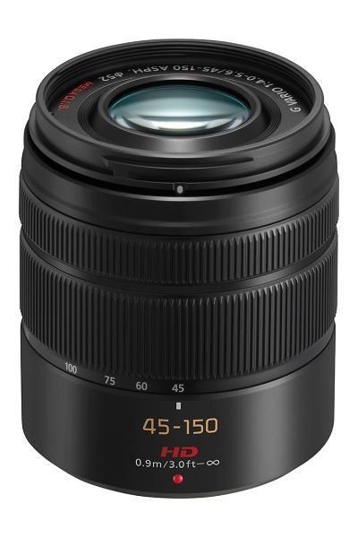 Panasonic Lumix G Vario 45-150mm f/4.0-5.6 - Zwart