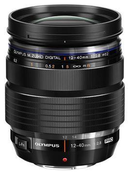 Olympus M.Zuiko Digital ED 12-40mm f/2.8 Kitlens - Zwart