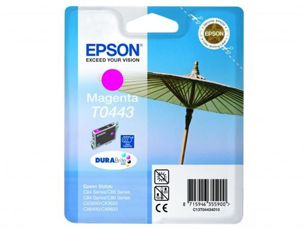 Epson T0443 Inktcartridge Magenta