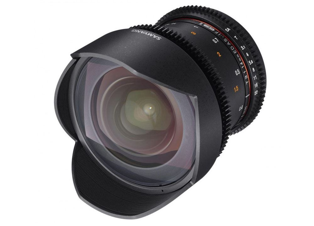 Samyang 14mm T3.1 ED AS IF UMC VDSLR II Canon
