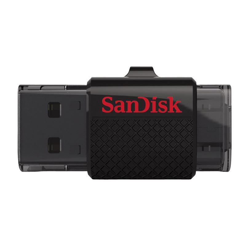 Sandisk 64GB Ultra Dual USB 3.0 64GB USB 3.0 (3.1 Gen 1) Type-A Zwart USB flash drive