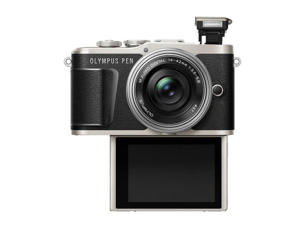 Olympus PEN E-PL9 systeemcamera Zwart + 14-42mm EZ