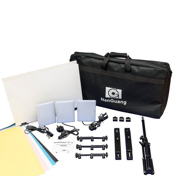 LedGo Nanguang T96 Kit /w Foldable Table (3 lights)