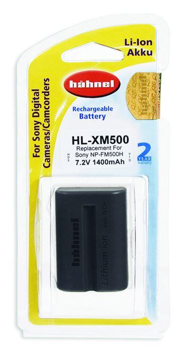 Hahnel Sony NP-FM500 accu / HL-XM500