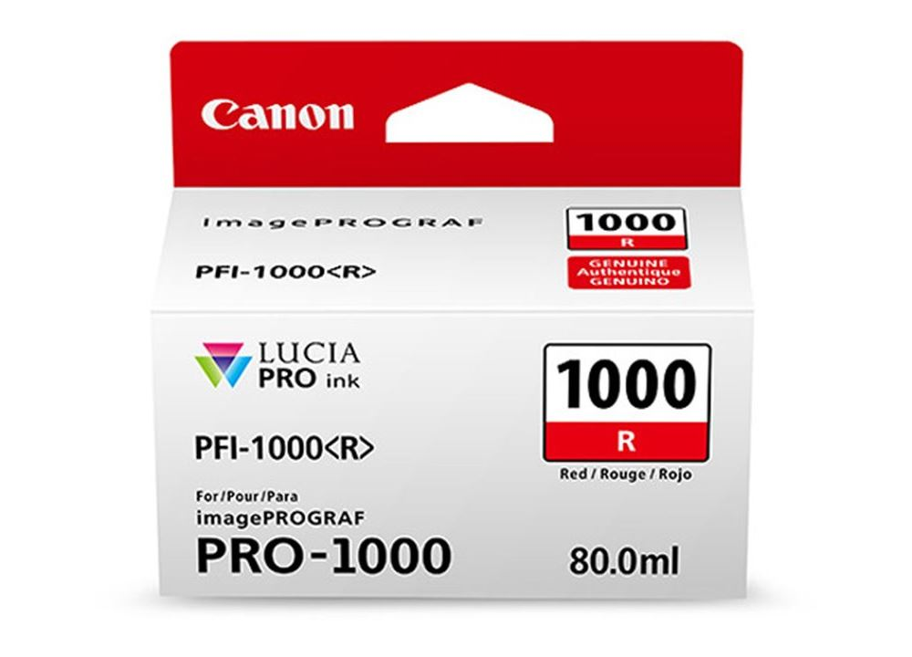 Canon PFI-1000 - Rood 0554C001