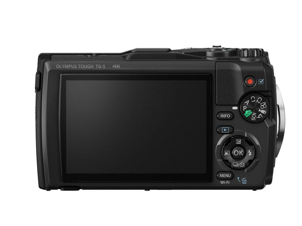 Olympus Tough TG-5 Zwart