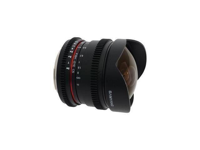 Samyang 8mm T3.8 Diagonal Fisheye VDSLR CS-II Nikon