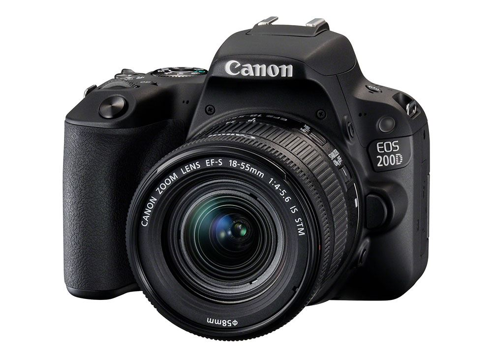 Canon EOS 200D Body + 18-55mm + 50mm