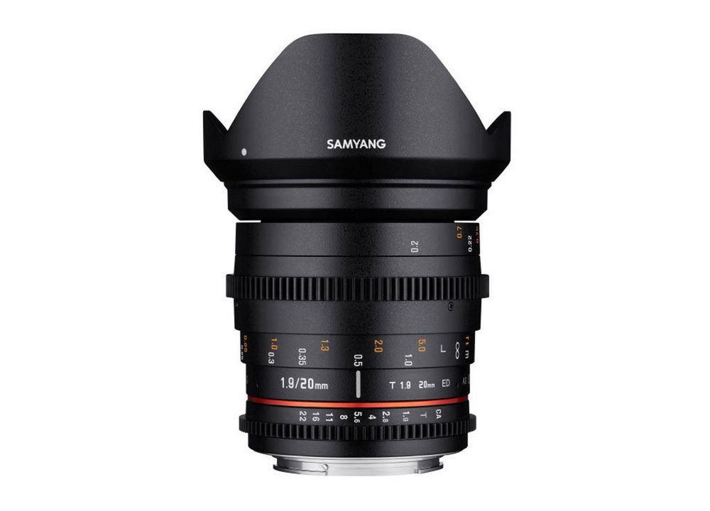 Samyang 20mm T1.9 ED AS UMC VDSLR Canon