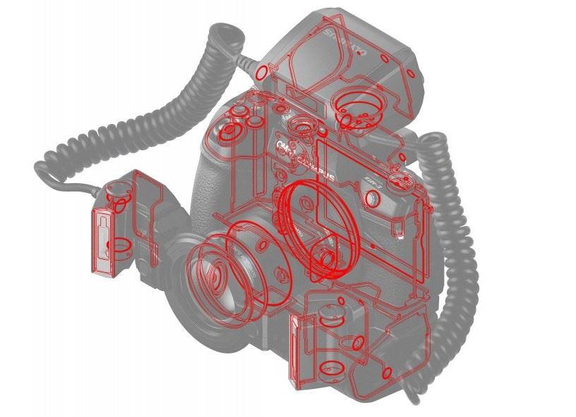 Olympus STF-8 Macroflitser