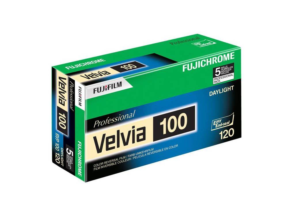FUJI VELVIA 100 EP 120-12 X5