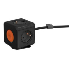 Allocacoc PowerCube Extended Remote Zwart 1,5 Meter (FR)