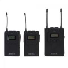 Boya UHF Duo Lavalier Microfoon Draadloos BY-WM8
