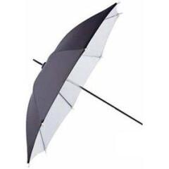 Delamax 2 in 1 Paraplu 152cm Zilver/Wit