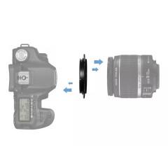 Caruba Omkeerring Sony E-mount - 77mm