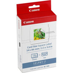 Canon KC-18IF 54x86mm Stickers 18 Sheet 10-pack