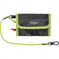 Tenba Reload Universal Card Wallet - Camo/Lime
