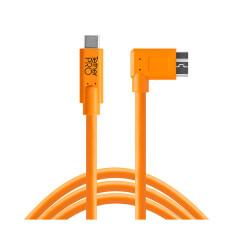 Tether Tools TetherPro USB-C - 3.0 Micro-B Rechts (4,6m oranje)