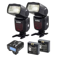Godox Speedlite V860II Sony Duo X2 Trigger Kit