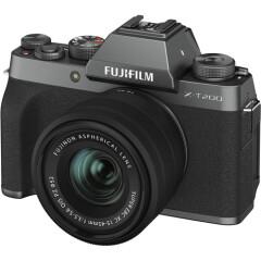 Fujifilm X-T200 Dark Silver + XC 15-45mm