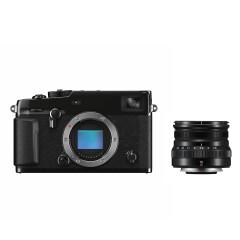 Fujifilm X-Pro3 Titan Zwart + XF 16mm f/2.8 R WR