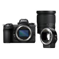 Nikon Z6 + 24-70mm f/4.0 + FTZ Adapter