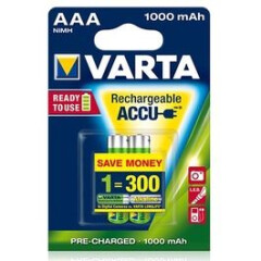 Varta Oplaadbare AAA Batterij 2 Stuks