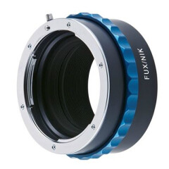 Novoflex Adapter Fuji X Pro camera naar Nikon objectief