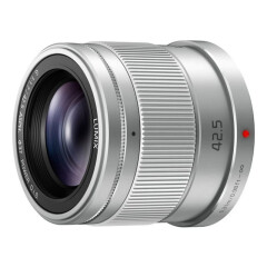Panasonic Lumix G 42.5mm f/1.7 - Zilver