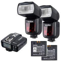 Godox Speedlite V860II Olympus/Panasonic Trigger Pro Kit