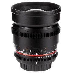 Samyang 16mm T2.2 ED AS UMC CS VDSLR Fuji X