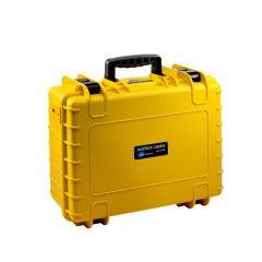 B&W Outdoor Cases Type 5000 - Geel met Plukschuim