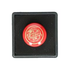 Match Technical Beep soft release ontspanknop - Rood Gold Dragon