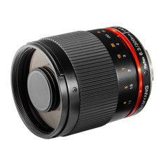 Samyang 300mm Reflex f/6.3 ED UMC CS Fuji X - Zwart