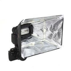 Falcon Eyes Softbox Zilver ESA-SB2030S 20x30 cm voor Camera Flitser