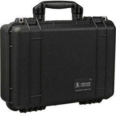 Peli Case 1500 Black 42,5x28,4x15,5cm (plukschuim interieur)