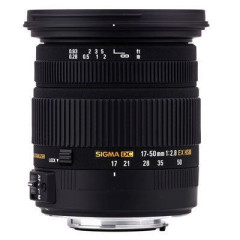 Sigma 17-50mm f/2.8 EX DC OS HSM Sony A