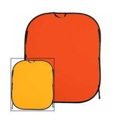 Lastolite Plain collapsible 180x215cm yellow/orange