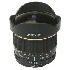 Samyang 8mm f/3.5 Fisheye UMC CS-II Sony A