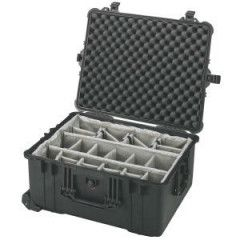 Peli Case 1614 Black 56,3x43,5x26,9cm (dividers interieur)