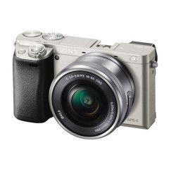 Sony A6000 Zilver + 16-50mm