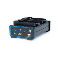 FXLion PLU-65 DV Duo Charger DV/Sony BPU Battery