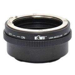 Kiwi Lens Mount Adapter (Nikon G naar Canon M)